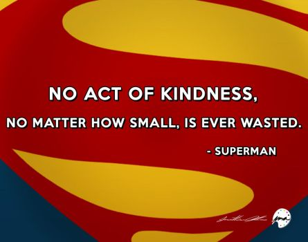 Superman Quote #2 (2015) by jmalfonso7