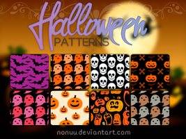 Halloween patterns (.pat) by Nonuu