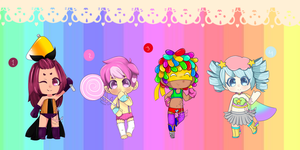 Super Sweets Set Price Adopts: OPEN by 8BitSnake