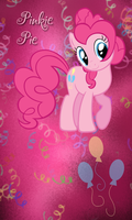 Pinkie Pie Win7 Phone BG by TecknoJock