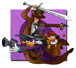 The Detective and the Ducks by puritysin