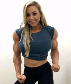 Stephanie Muscle Morph by Turbo99