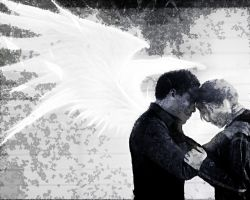 The Hunger Games. Katniss and Cinna by StalkerAE
