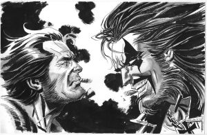 Wolverine Lobo Smoke-off by BillReinhold