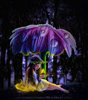 Miracle in the rain by KristenBui