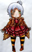Steampunk Chibi adoptable 15 points -SOLD- by RaelXArts