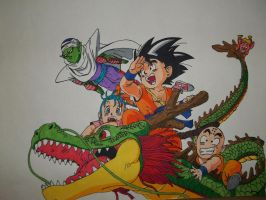 Dragon ball by RaVjak20