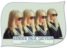 PACK PNG TAEYEON @151006 AIRPORT by victorhwang
