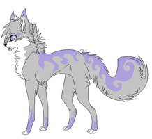I bought a wolf adopt it's gonna be Beyline Now :D by TheRainbowSparkle