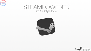 iOS 7 Style Steam Icon by Atopsy