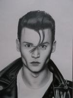Johnny Depp-Cry Baby by andrewUA