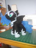mini nightmare moon by SwiftStitchCreations
