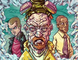 Breaking Bad - Meth Blue variant by iamwheatking