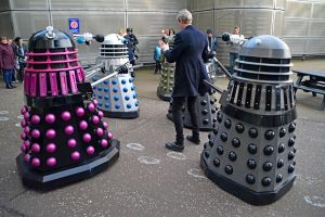 The Doctor and the Daleks (1) by masimage