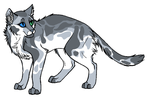Adoptable Cat 7 CLOSED by GreyStreamAdoptables