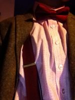 Eleventh Doctor cosplay shirt detail by Demons-Run
