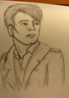 Jack Harkness doodle #2 by Proi