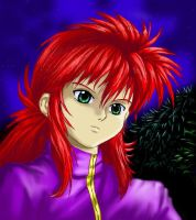 Kurama colored by Soreiya
