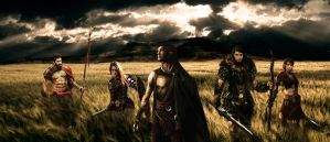 The Five Warriors by JadenTracyn