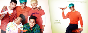 BigBang for Jeju Air 2012 ~ ID by xSparklyVampire