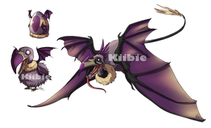 Monster egg 3, Hatched Voltear by Kiibie-Adopt