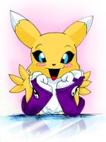 Hi_Renamon_color by gurudJ