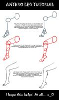 Anthro Leg Tutorial by mindsend