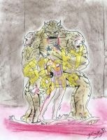 Conjoining monster by yomerome
