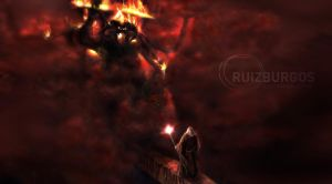 Flame of Udun by RUIZBURGOS