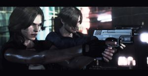 Helena and Leon by Keyre
