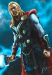 Thor: The Dark World by Tsu-gambler