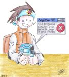 The worse enemy of Megaman.EXE by Ian-the-Hedgehog