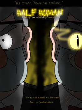 Half Human - Comic Cover by Juststarz63