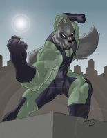 Wolf-Moon 2011 COLORED by LucasAckerman