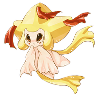 Shiny Jirachi by Esurie