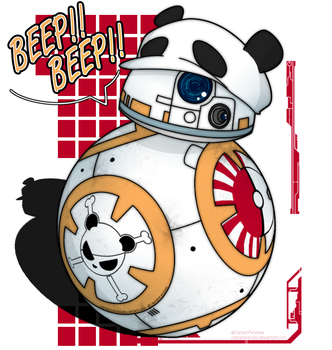 [FANART] BB-8 by CaptainPandaa