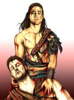 Nagron - My place is forever by your side by crazzzedope