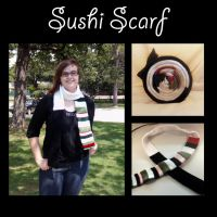 Sushi Scarf by pix51