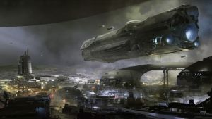 Halo 5  Guardians : Concept Art by HaloMika