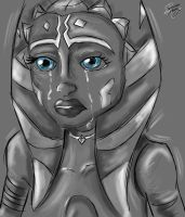 Nobody wants to cry /// by Padawan Ahsoka Tano by N-Y-N-A