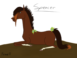 Spencer! :) by Meme00