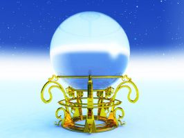 STOCK BG 70 snow globe by MaureenOlder