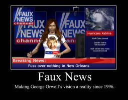 Fox News V George Orwell by PerfectBlue97
