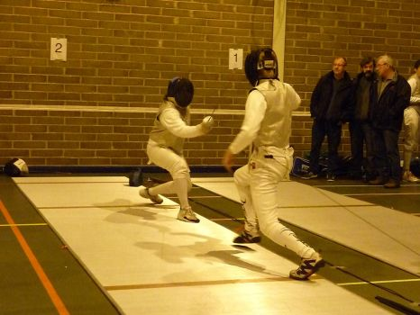 Fencing Foil by drums-r-cool