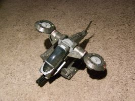 toy fighter plane by bipolargenius