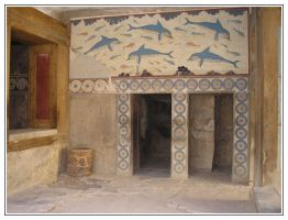 Knossos: The Queens Megaron by Jhez