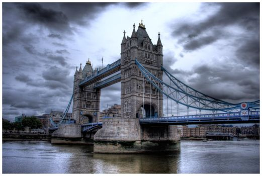 Tower Bridge HDR by MrArtsy