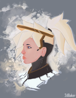 Mercy-Overwatch by 2dBaker
