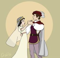 snowwhite and prince -love- by talisje