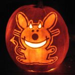 Happy Bunny by pumpkinsbylisa